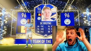 W2S GETS A TOTY IN A PACK!! - FIFA 21