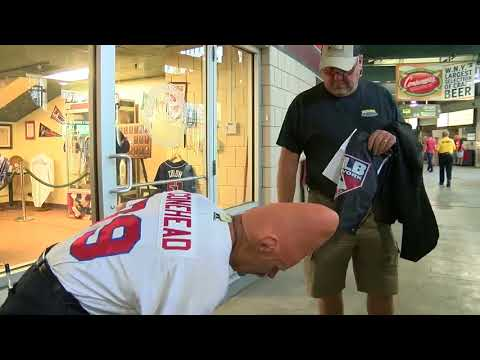 Conehead celebrates 40 years of vending beer at Buffalo Bisons games