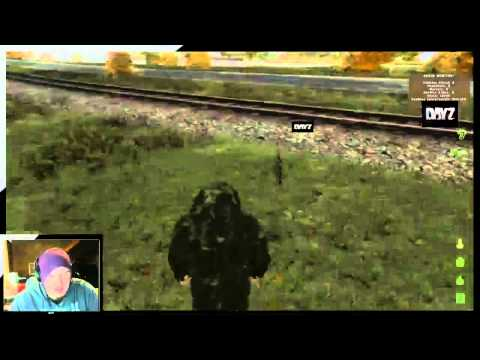 Dayz - Getting trolled by a Hacker on the stream