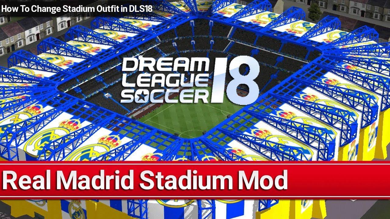 873132680e63df Dream League Soccer 2018 Stadium Mod | Build Real Madrid Stadium in DLS18
