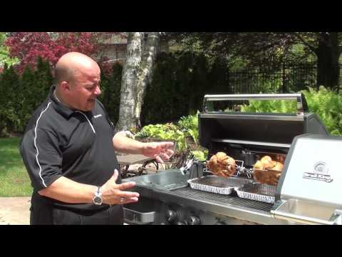 Broil King® Cooking Methods: Rotisserie