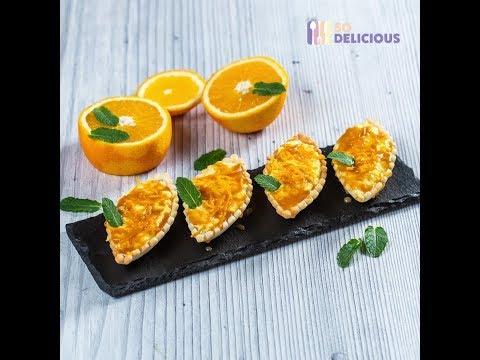Cremă pentru prăjituri cu aromă de portocale