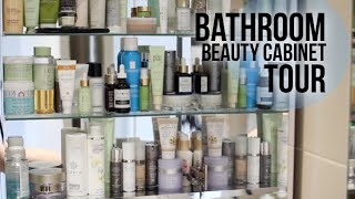 Bathroom Beauty Cabinet Tour | Lily Pebbles