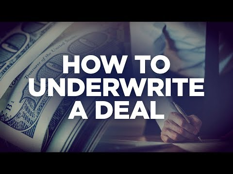 How to Underwrite a $50 Million Dollar Real Estate Deal