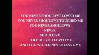 "Ashanti - ""NEVER SHOULD HAVE"" - *LYRIC VIDEO*"