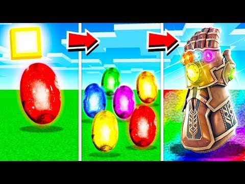 LIFE OF THE INFINITY GAUNTLET IN MINECRAFT!