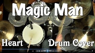 Heart - Magic Man Drum Cover
