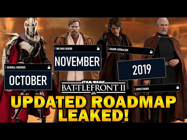 UPDATED ROADMAP LEAKED! Star Wars Battlefront 2