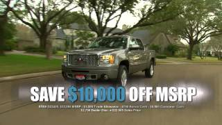 Victory Buick GMC Sierra Sell-off TV commercial