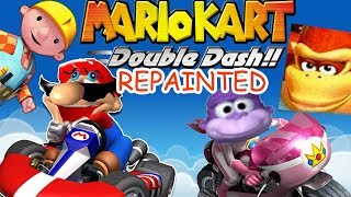 EVERYTHING IS MEMES || Mario Double Dash REPAINTED