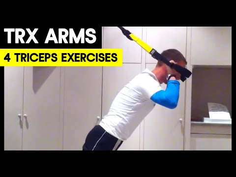 4 TRX Triceps Exercises