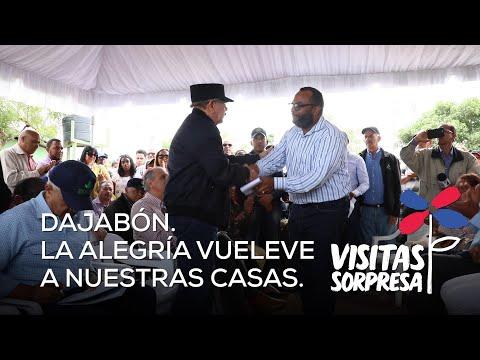 Danilo Medina dispone apoyar a ganaderos y mujeres de Dajabón con animales alta genética, salas de ordeño, lagunas, equipos y centro textil
