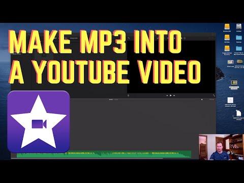 How to Turn Mp3 Into Youtube Video iMovie [Mac Tutorial]