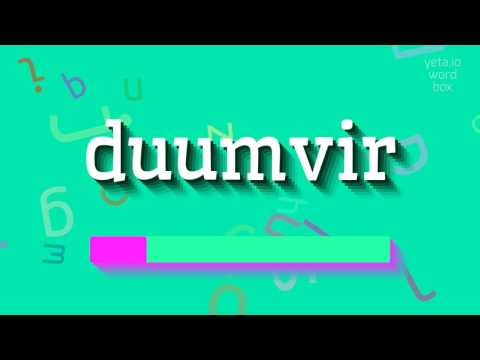 "How to say ""duumvir""! (High Quality Voices)"