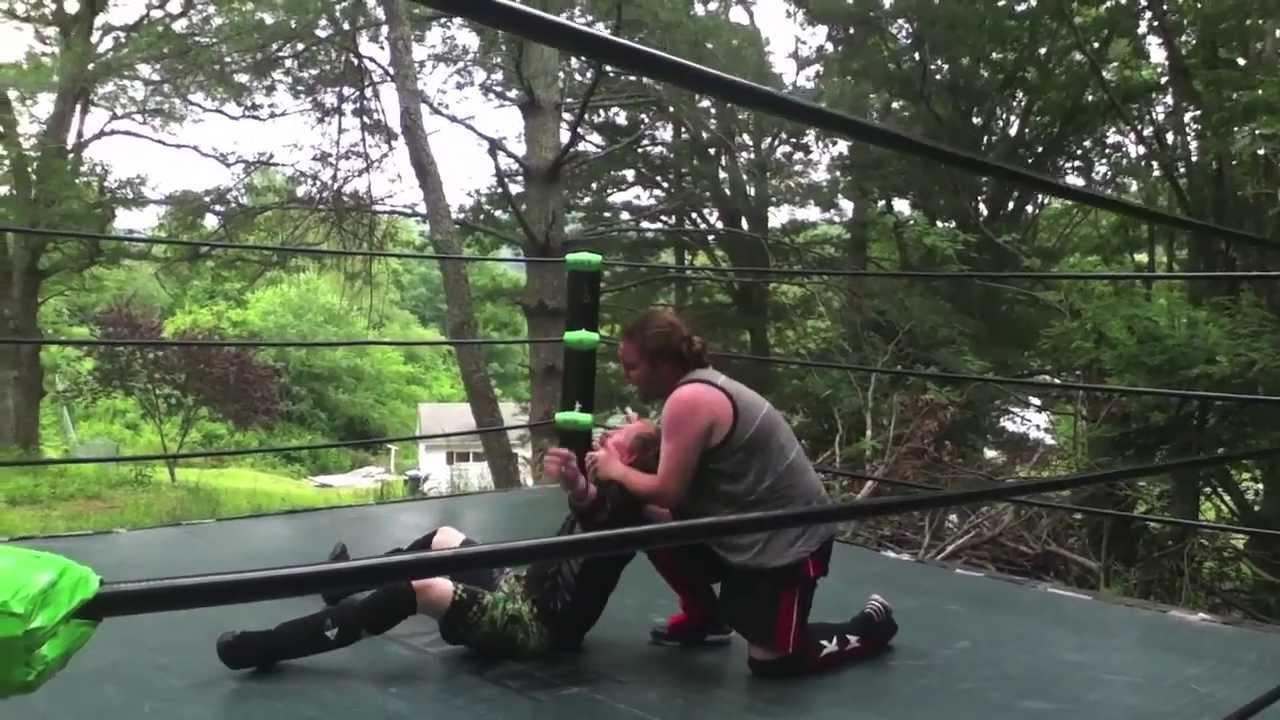 mxw backyard wrestling daniel rayne vs keith wylde youtube