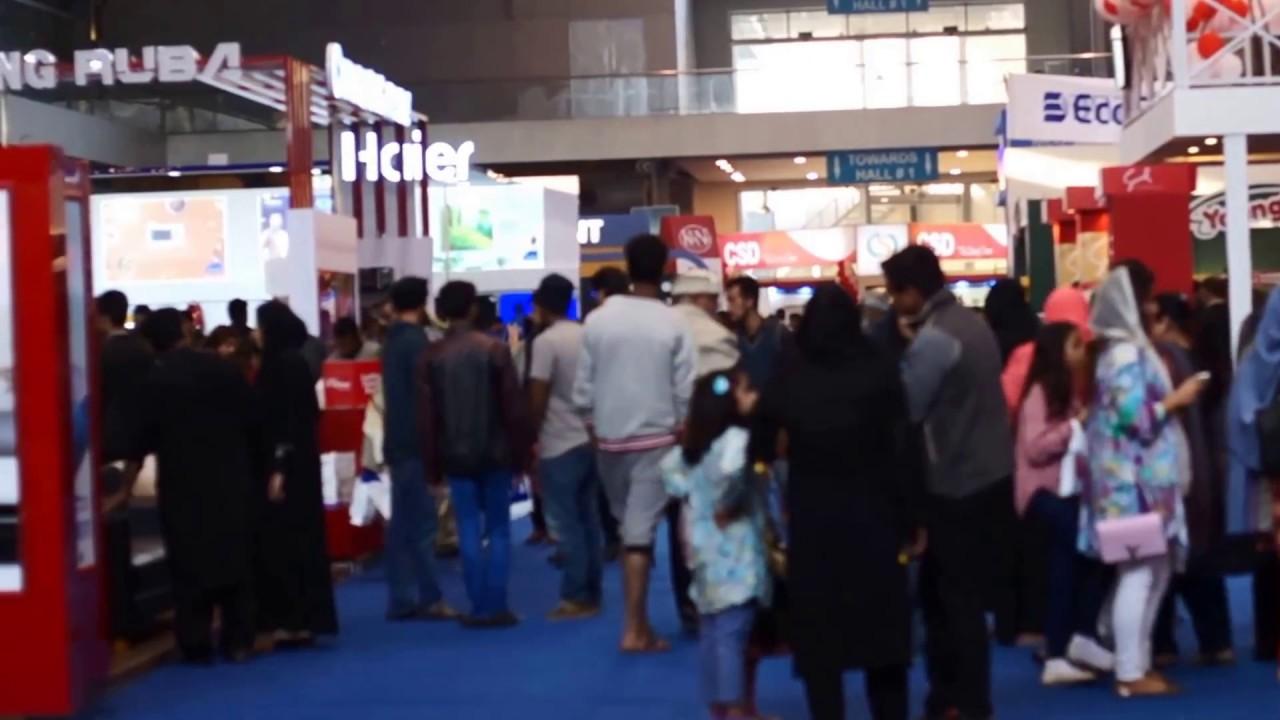 Lahore International Expo Center Lifestyle Exhibition 2016 Youtube