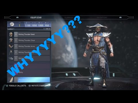 Raiden probably wasted a spot by just being in Injustice 2....