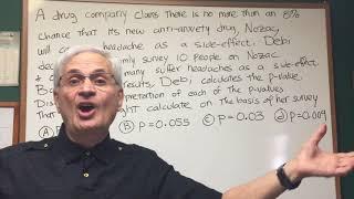 P Value  - ORGOMAN - DAT DESTROYER – Math