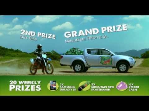 Mountain Dew - Dew More Win More Contest TVC