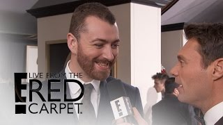 """Sam Smith Admits He May Need """"British Milk"""" for Oscars 