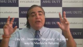 Ashu Dutt's 30 Days to Investing in Mutual Funds - Day 26