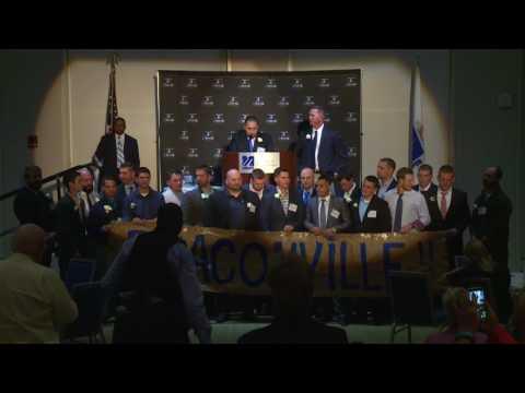 2016 UMass Boston Hall Of Fame Induction Speech: 2010 UMass Boston Baseball Team