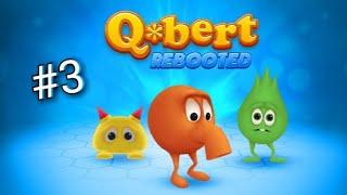Q*BERT REBOOTED НА PS4 [Прохождение 36, 37, 38, 39, 40 Levels]