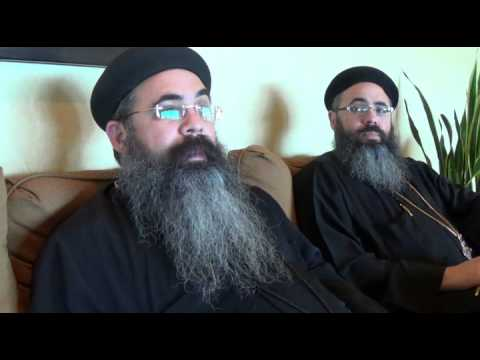 "Interview With Coptic Orthodox Priests "" Twins ""  Born and Raised in USA.."