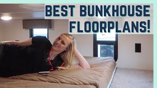 BEST 2020 BUNKHOUSE FLOORPLANS || FLORIDA RV SUPERSHOW