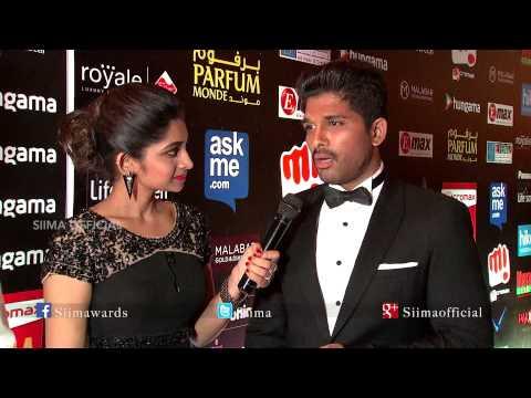 Allu Arjun & Allu Sirish At Red Carpet SIIMA 2015 Awards  | Tamil