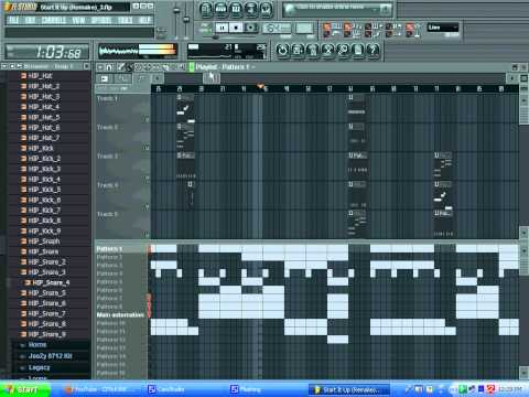 Lloyd Banks - Start It Up (Full Remake) using FL Studio 9