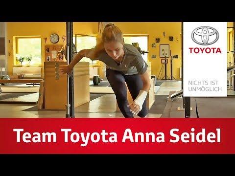 Weltmester Trifft - Anna Seidel  Team Toyota