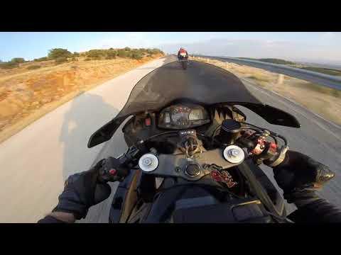 2007 Honda CBR 600RR & 2006 Yamaha YZF-R6 - XYTA hillclimb onboard POV