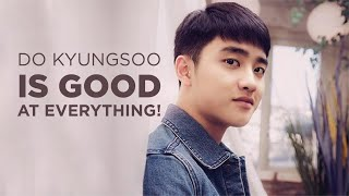 DO KYUNGSOO IS GOOD AT EVERYTHING!