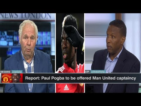 ESPN FC   Paul Pogba disappointed leaving Manchester United   Shaka Hislop Surprised