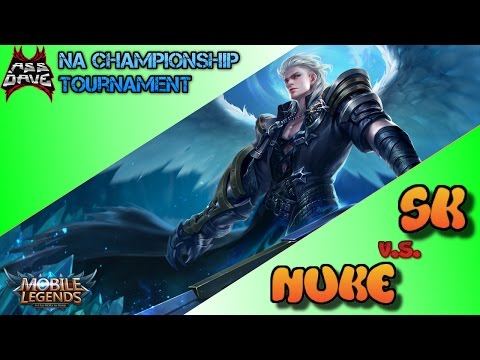 Team SK vs Team NUKE - Mobile Legends NA Mid-Season Championship Tournament