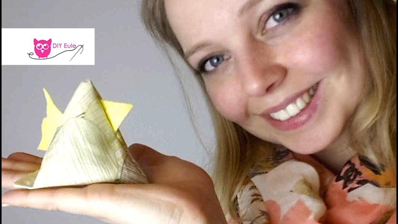 Kleine Oster Hühnchen nähen – DIY EUle - YouTube