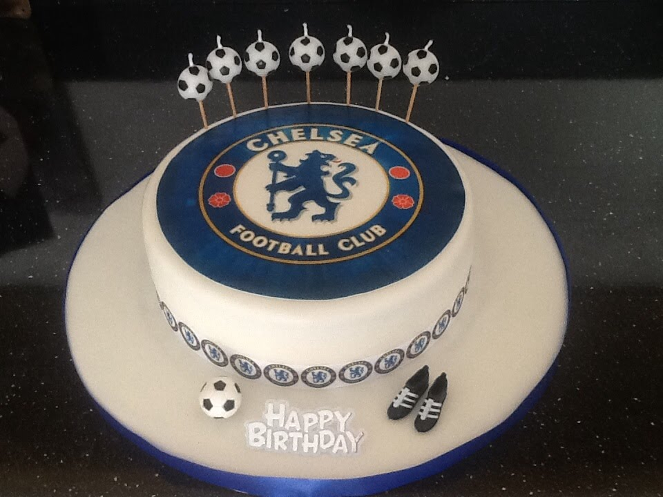 How To Make A Chelsea Fc Birthday Cake