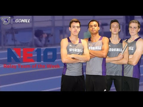 Stonehill College Distance Medley Relay Earns NE10 Relay Team of the Week