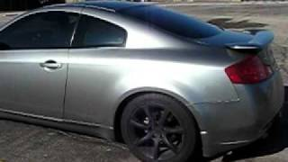 2004 infiniti g35 with flowmaster exhaust system