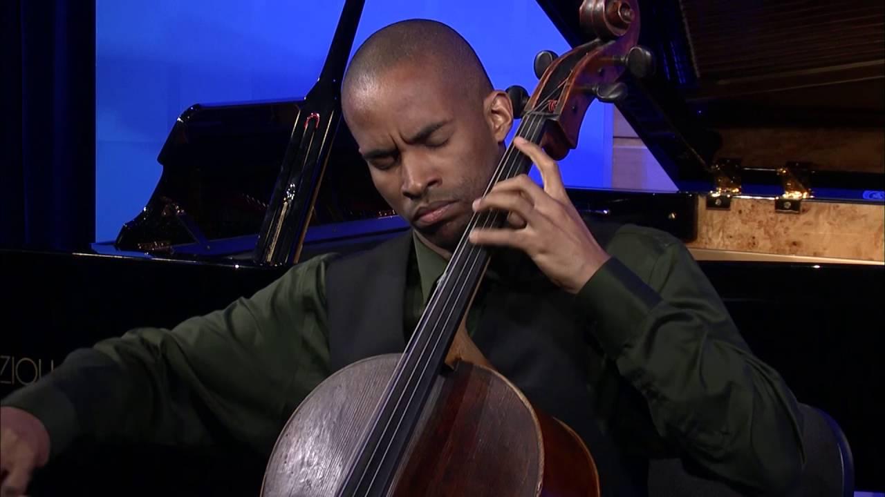 Khari Joyner plays Golijov's Omaramor, for solo cello