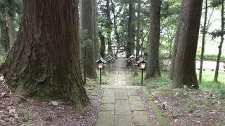 白河神社は福島県白河市にあり、下野と陸奥の国境の関があった白河関跡...