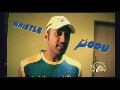 Chennai Super Kings (CSK) Whistle Podu Video Theme Song 2013 HD