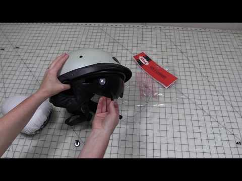 How To Replace The Visor On A Motorcycle Helmet