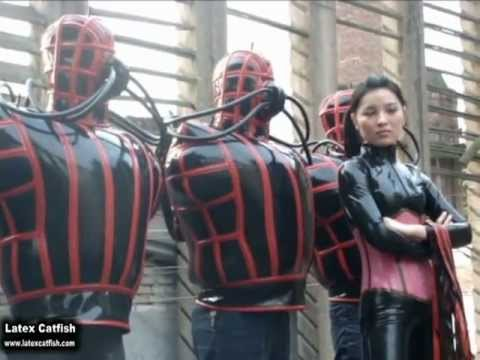 Heavy Inflatable Latex Suits From Latex Catfish (Inflatable Latex Clothes)