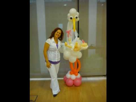 Decoración con globos - YouTube