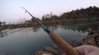 Fishing Wooli River Australia (NSW)