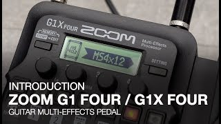 Zoom G1 Four & G1X Four: Introduction