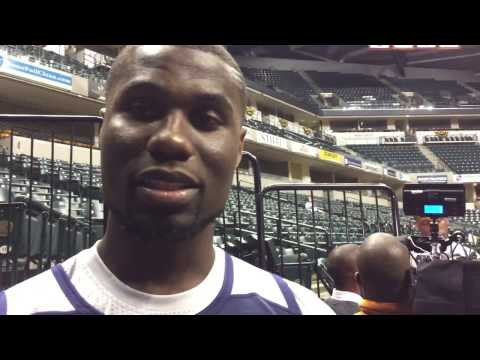 Ben Bentil discusses joining the Mad Ants