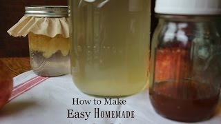 How to Make Homemade Raw Apple Cider Vinegar